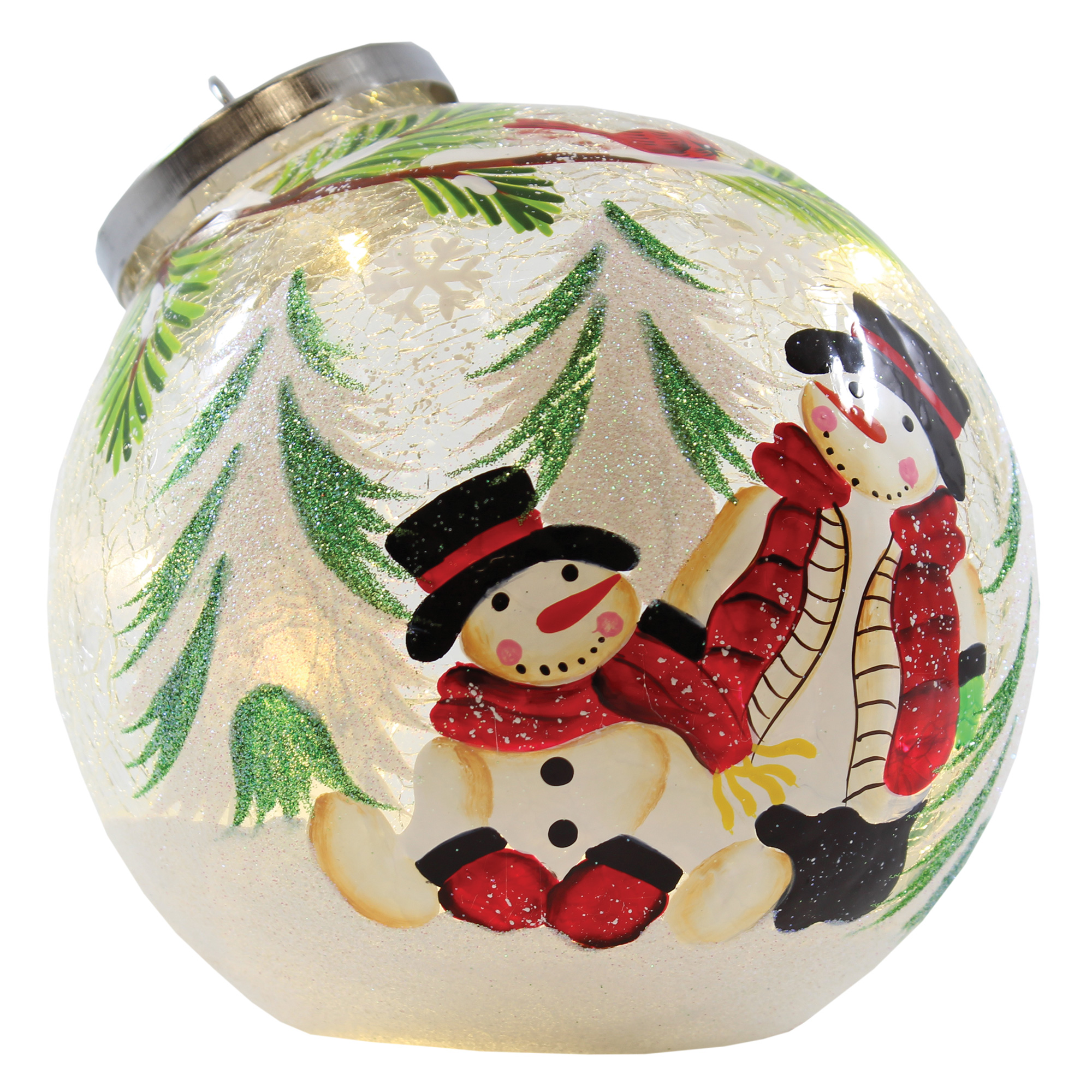 """5.5"""" x 6"""" x 5.5"""" TWO WILLIES ORNAMENT"""