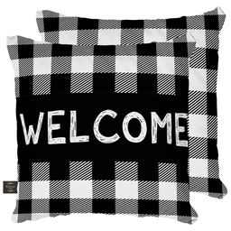 Decorative Pillow Welcome
