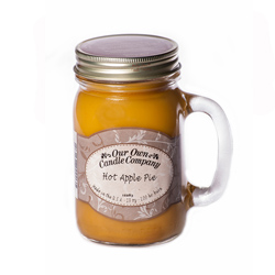 HOT APPLE PIE LARGE MASON CANDLE 13 OZ