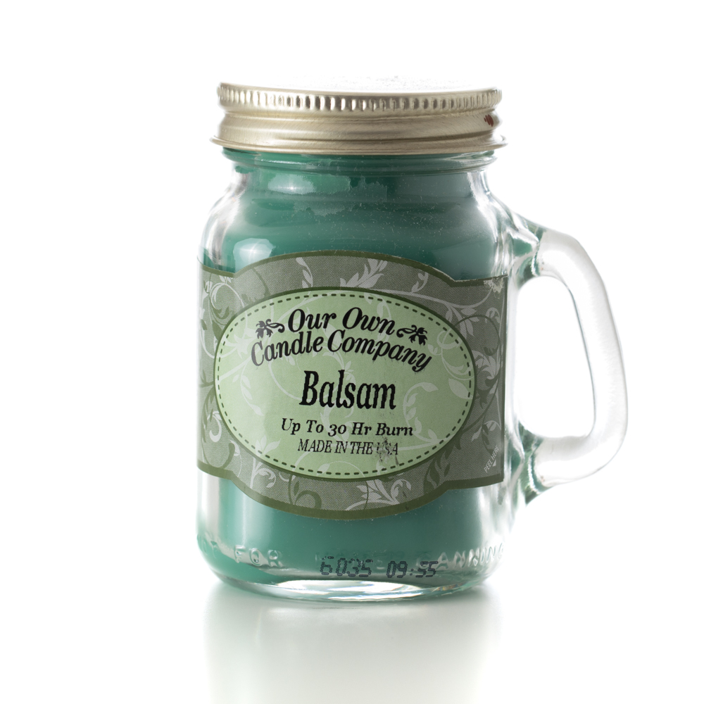 BALSAM MINI MASON CANDLE 3.5 OZ UPC# 810896005047