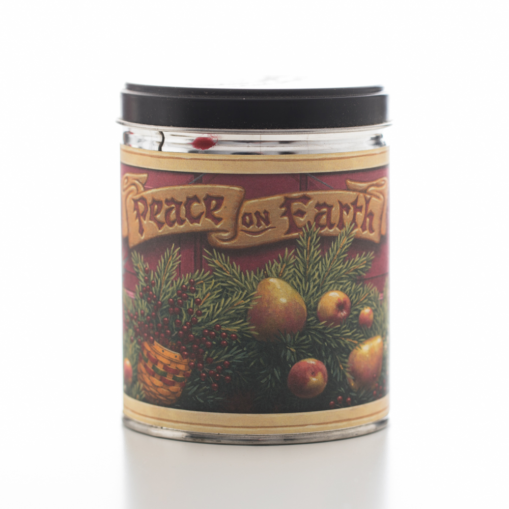 CRANBERRY ORANGE TIN CANDLE 13 OZ UPC# 813542022245