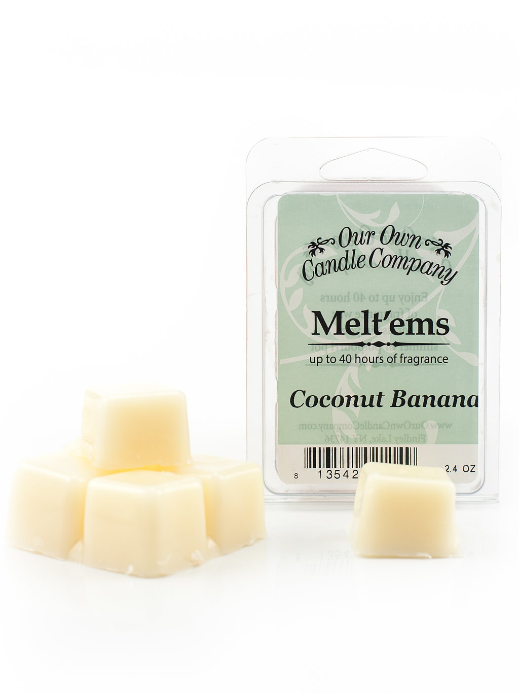 COCONUT BANANA MELT 6 CUBE 2.4 OZ UPC# 813542021149