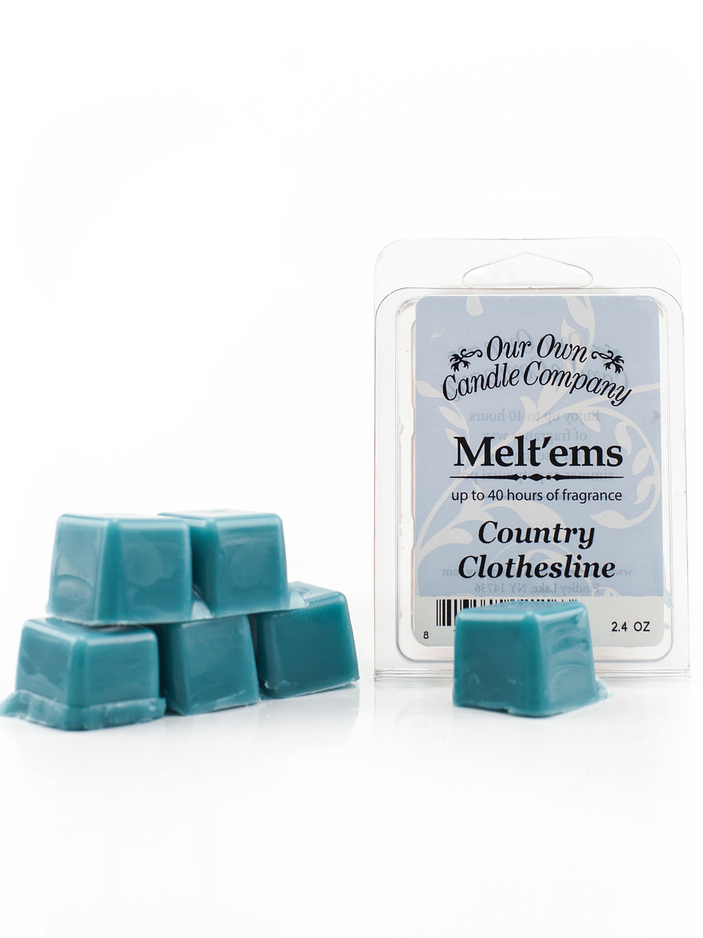 COUNTRY CLOTHESLINE MELT 6 CUBE 2.4 OZ UPC# 813542021163