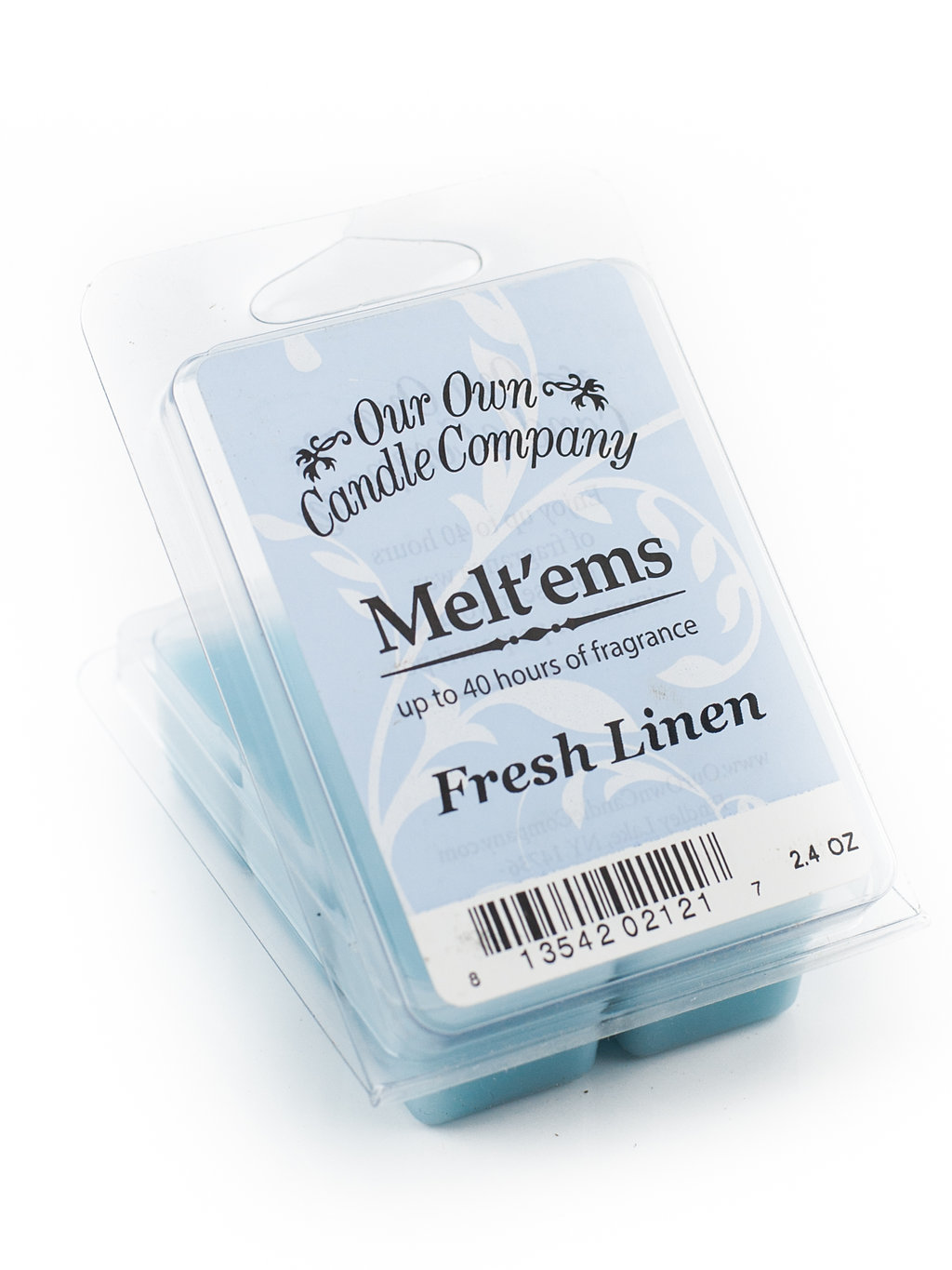 FRESH LINEN MELT 6 CUBE 2.4 OZ UPC# 813542021217