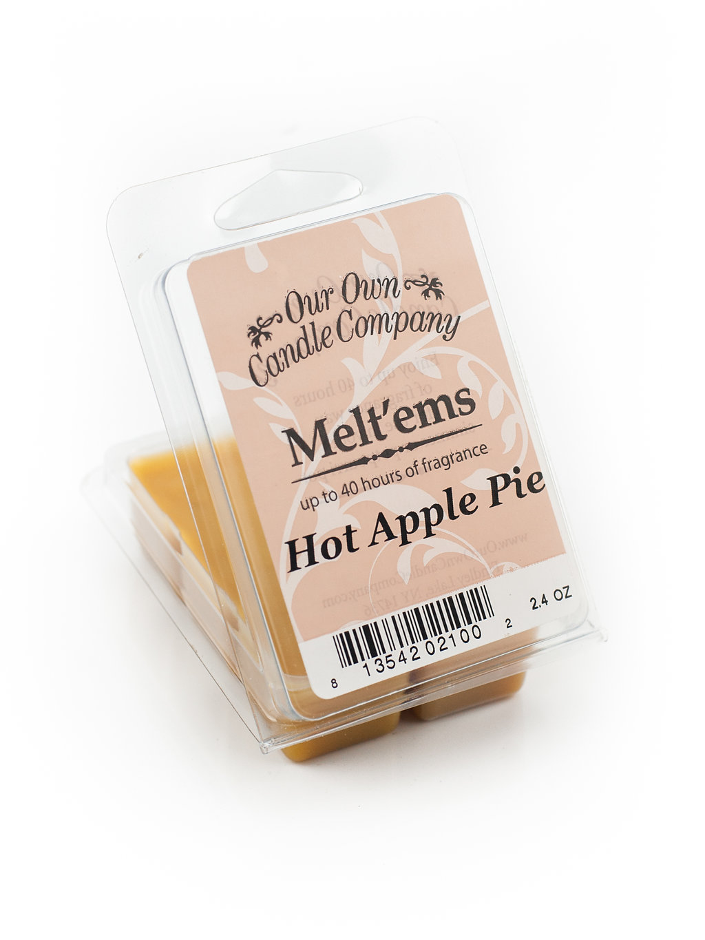 HOT APPLE PIE MELT 6 CUBE 2.4 OZ UPC# 813542021002