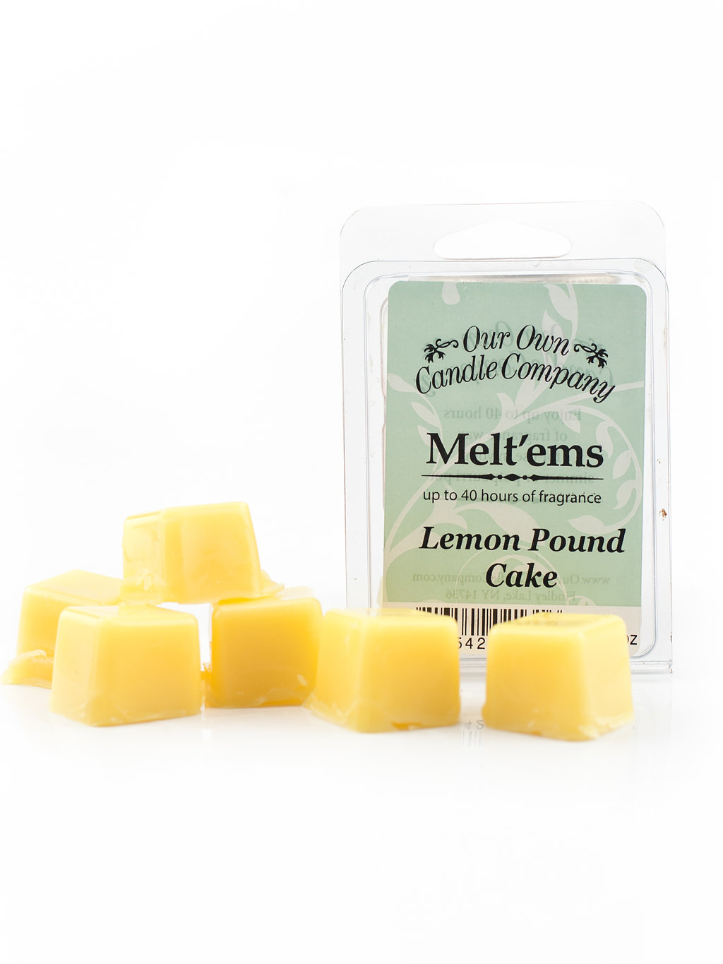 LEMON POUND MELT 6 CUBE 2.4 OZ UPC# 813542021316