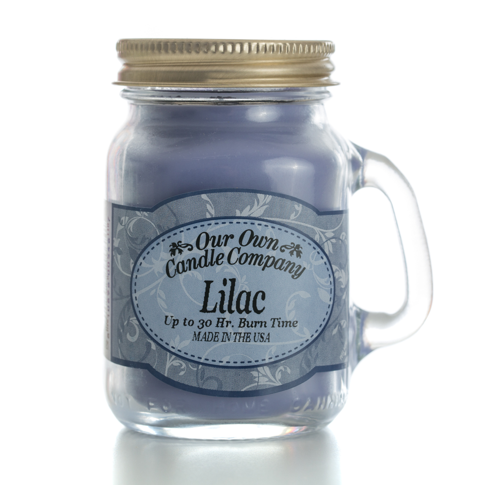 LILAC MINI MASON CANDLE 3.5 OZ UPC#810896005467