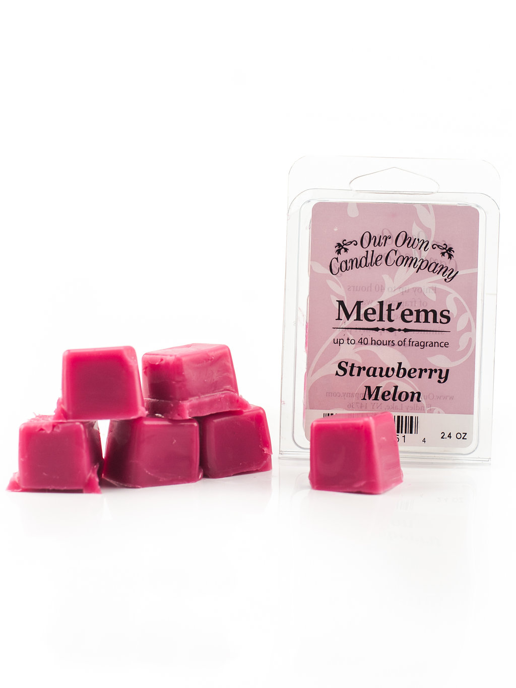 STRAWBERRY MELON MELT 6 CUBE 2.4 OZ UPC# 813542021514