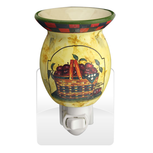 APPLES IN BASKET NIGHT LIGHT WAX MELTER