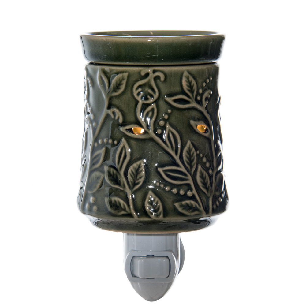 GREEN LEAF NIGHT LIGHT WAX MELTER