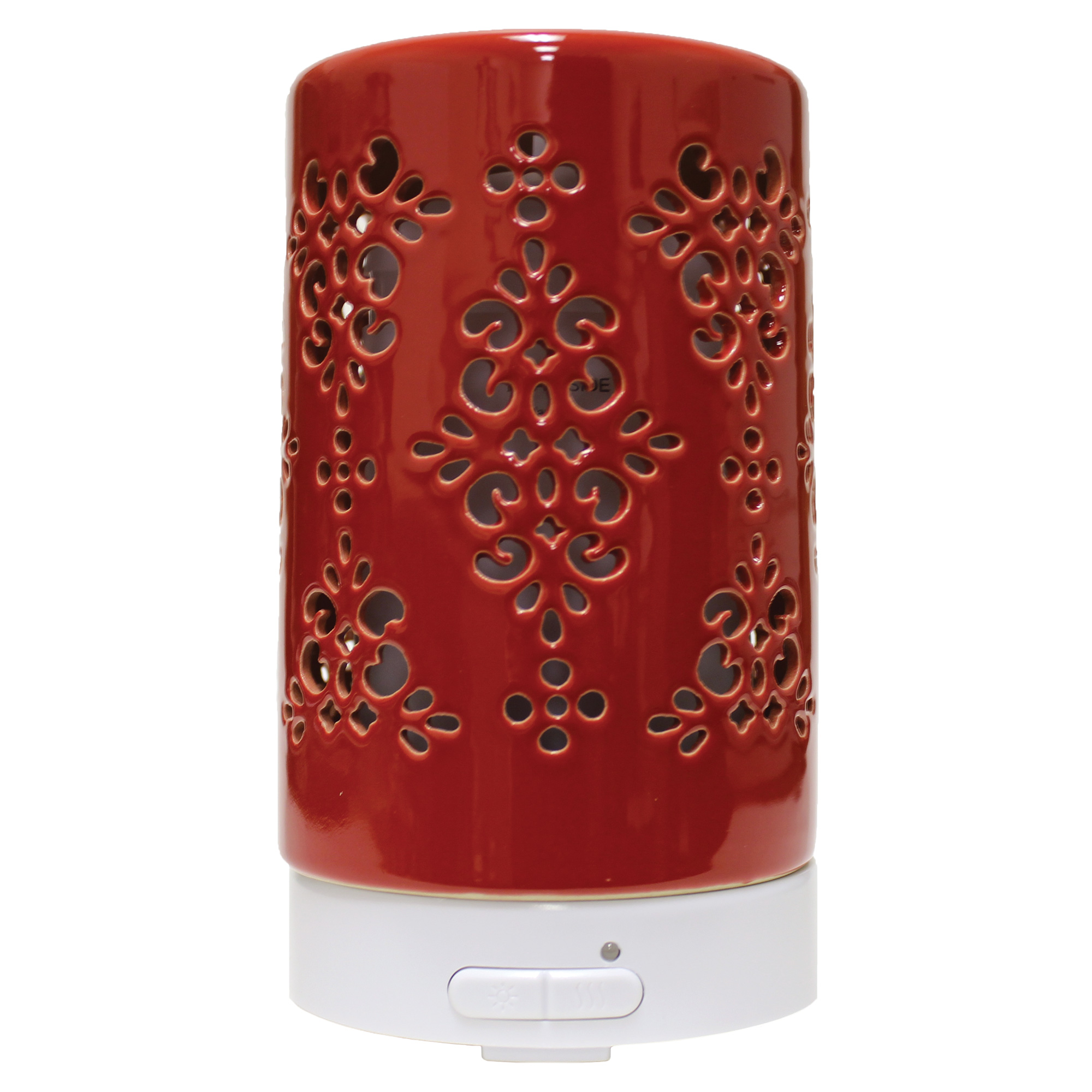 TAPESTRY RED ULTRASONIC OIL DIFFUSERUPC# 674623018096