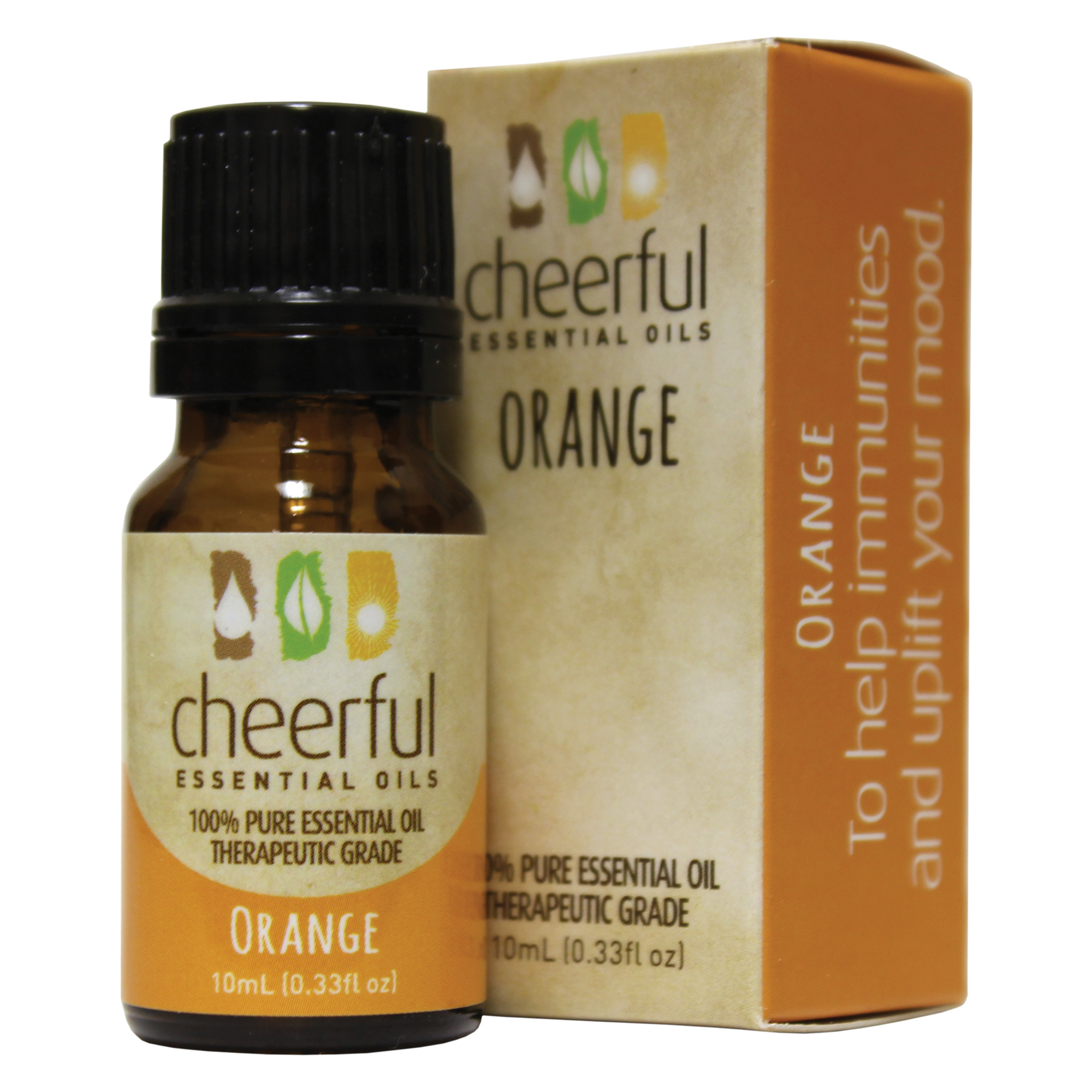 ORANGE ESSENTIAL OIL 10 ML UPC# 674623018157