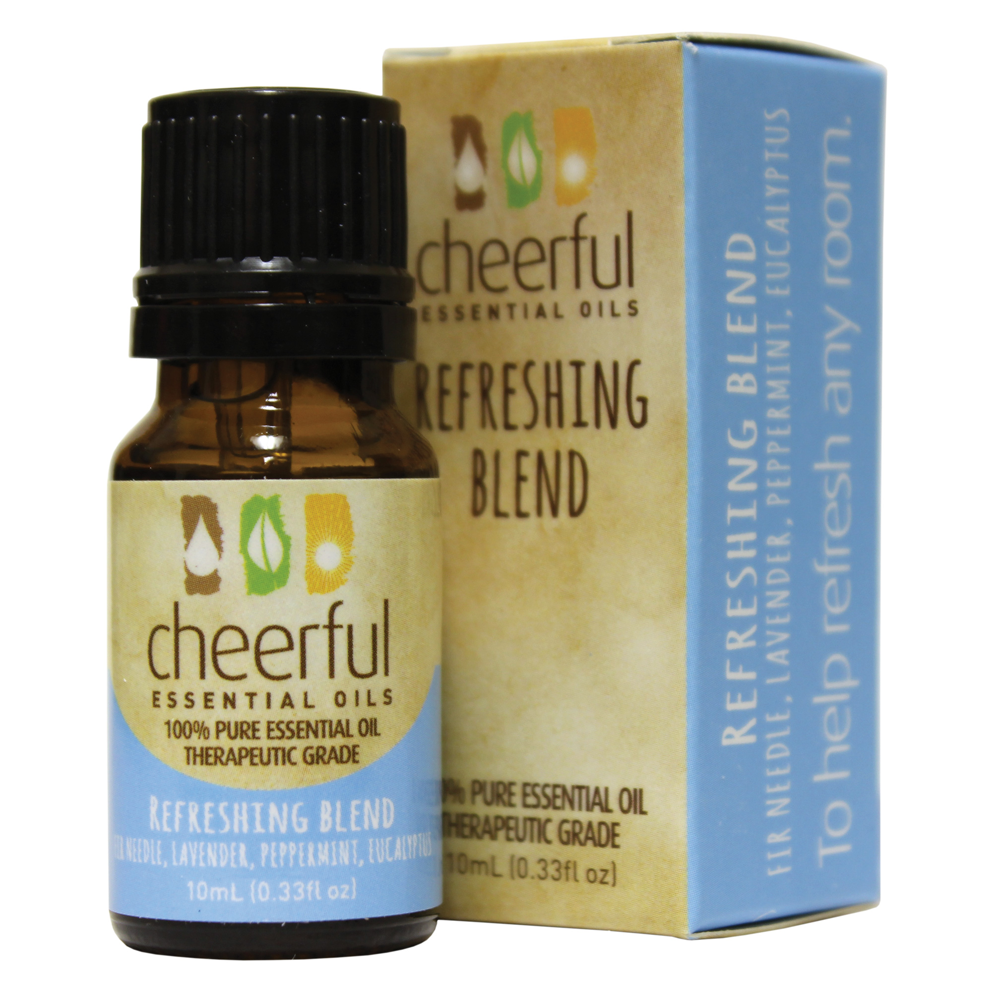 REFRESHING BLEND ESSENTIAL OIL 10 ML UPC# 674623018225