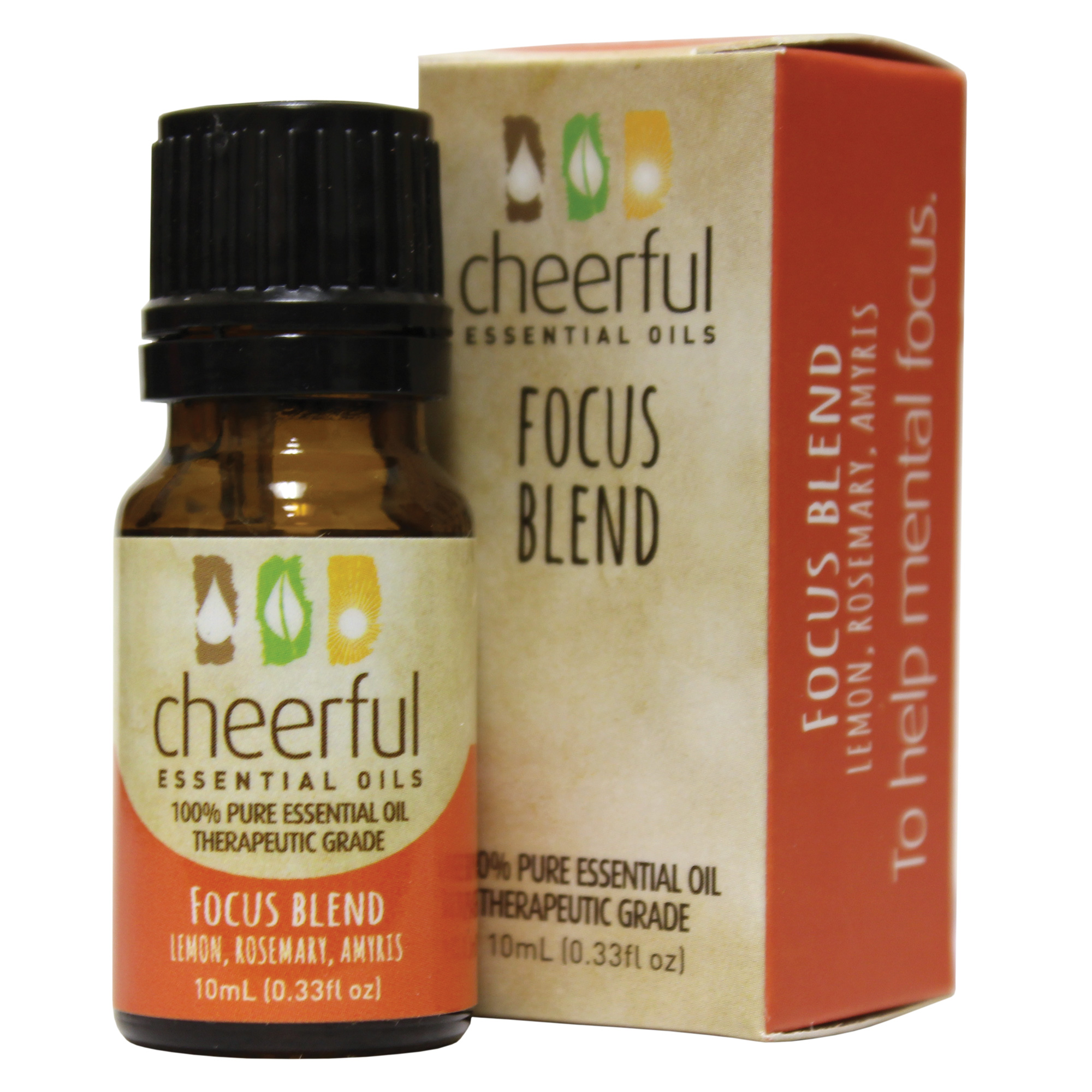 FOCUS BLEND ESSENTIAL OIL 10 ML UPC# 674623018232