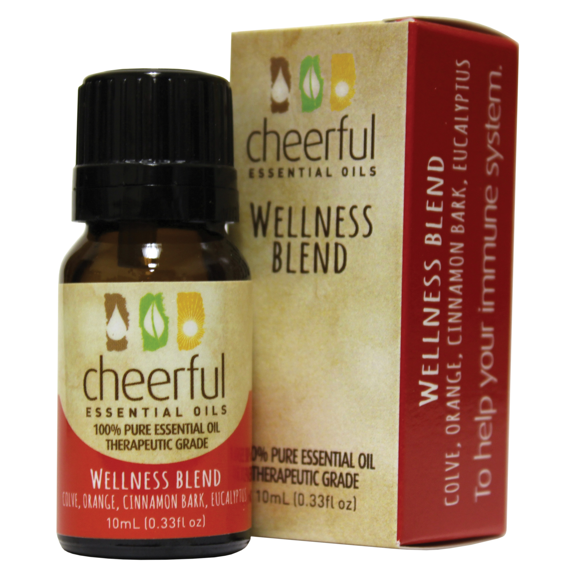 WELLNESS ESSENTIAL OIL 10 ML UPC# 674623018256