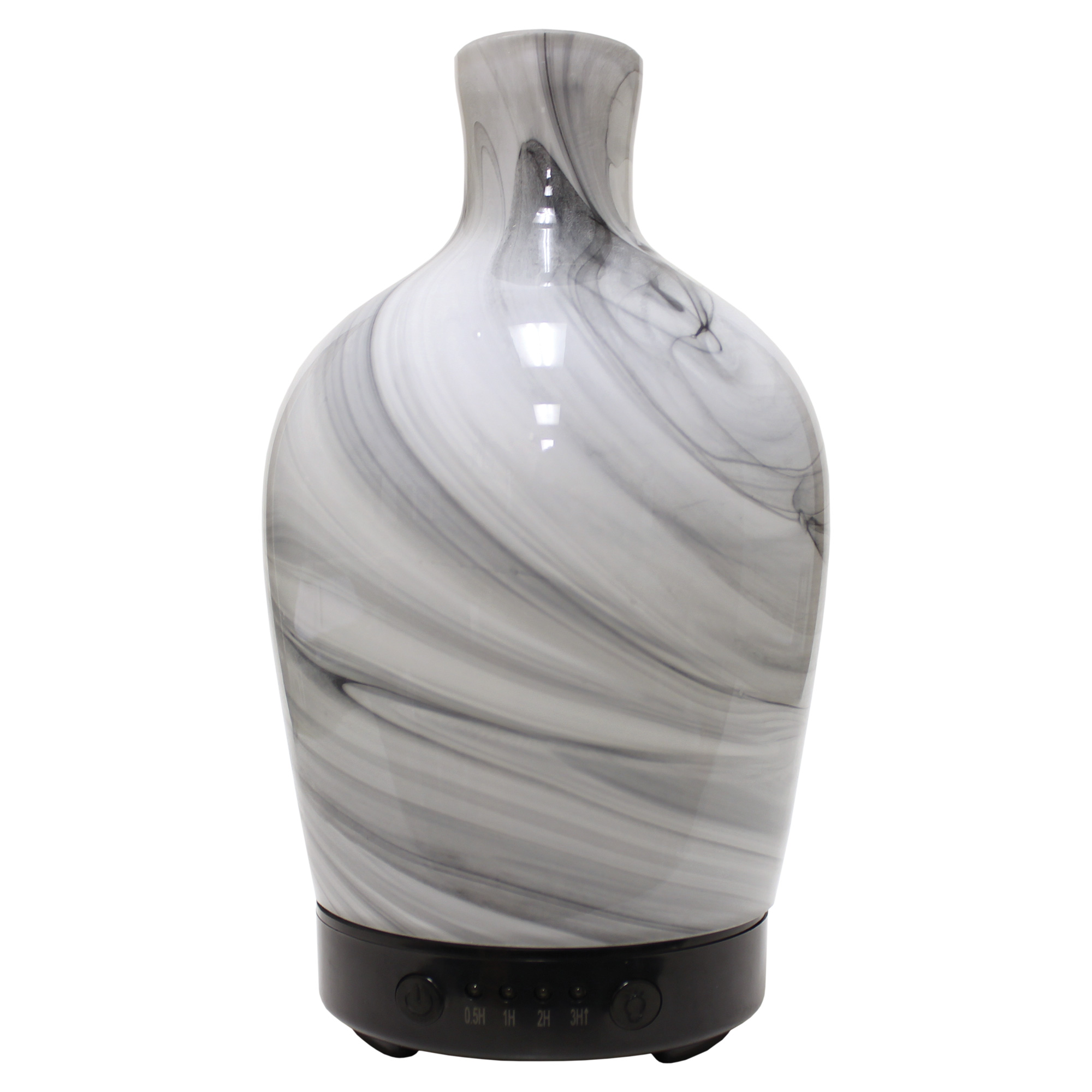 MARBLE VASE ARTESIAN GLASS ULTRASONIC OIL DIFFUSERUPC# 674623018362