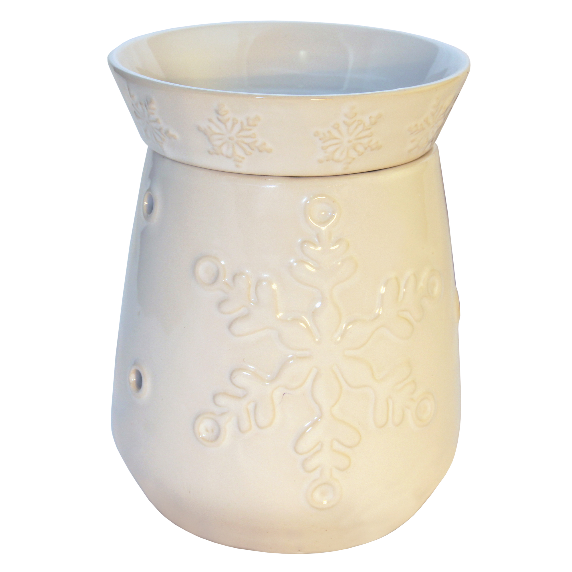 SNOWFLAKE TABLE TOP ELECTRIC WAX MELTER