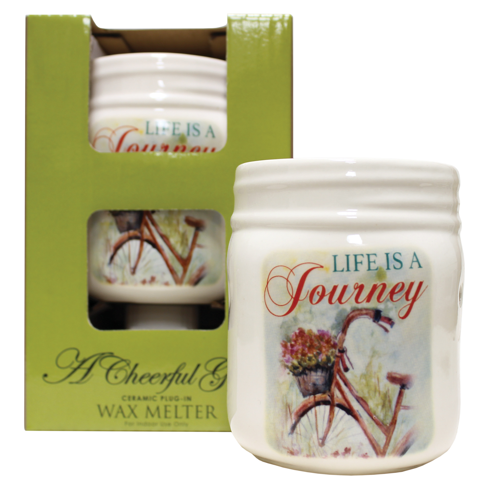LIFE IS A JOURNEY NIGHT LIGHT WAX MELTER