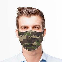 CAMOUFLAGE2 FACE MASK