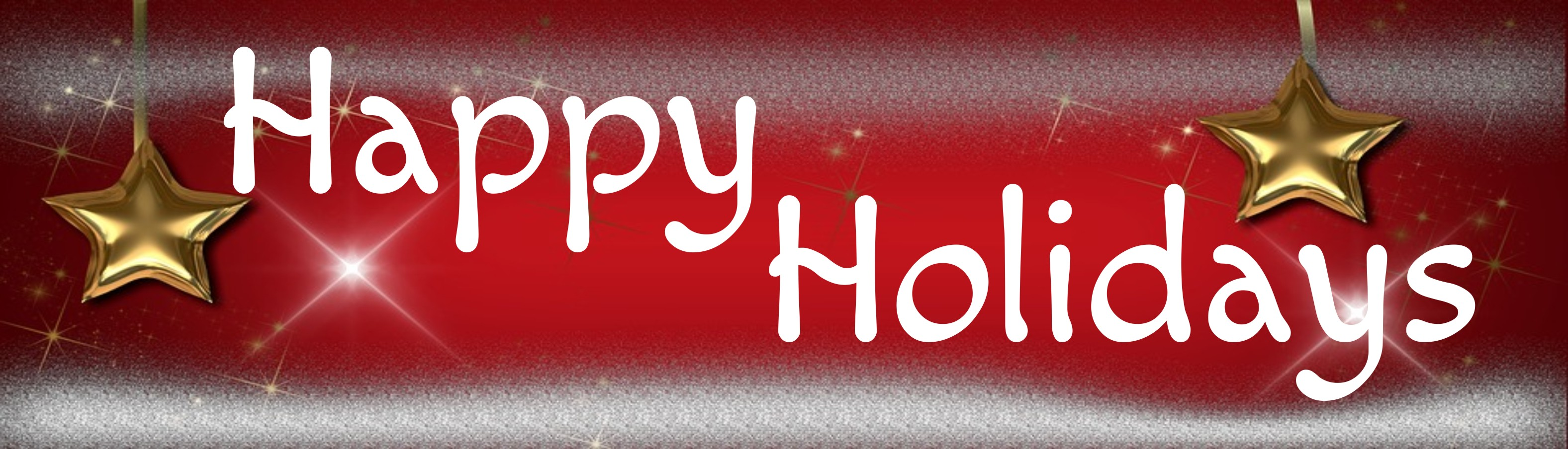"""HAPPY HOLIDAYS 10.5"""" x 3"""" WOODEN BLOCK SIGN"""