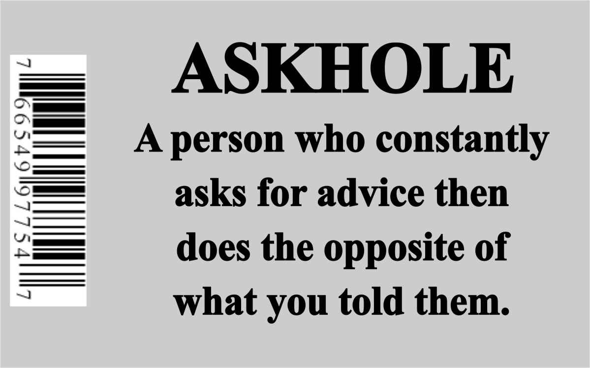 ASKHOLE...SWEAR JAR CANDLE