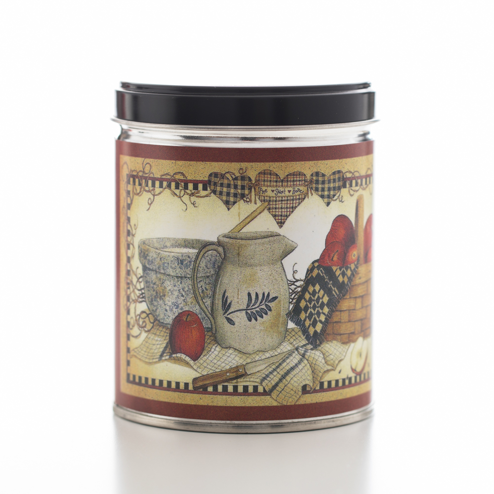 APPLE PIE TIN CANDLE 13 OZ UPC# 813542022146