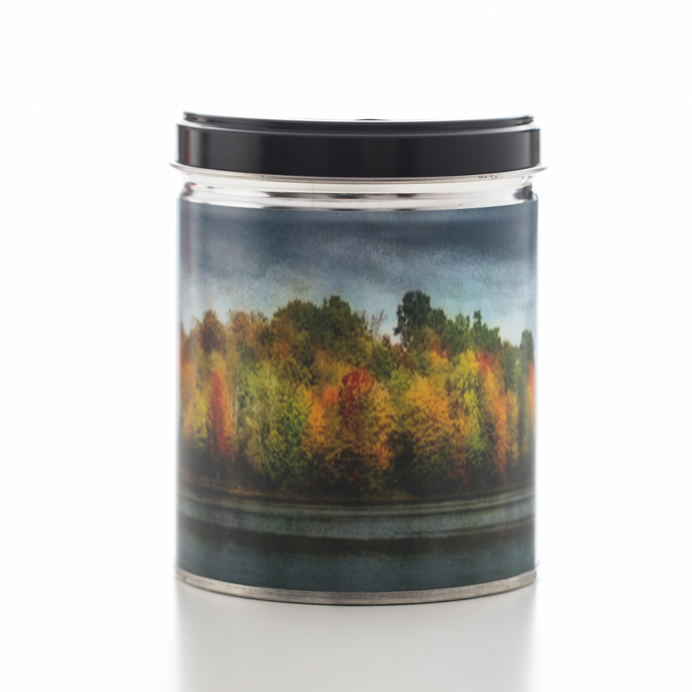 CINNAMON TIN CANDLE 13 OZ UPC# 813542022405