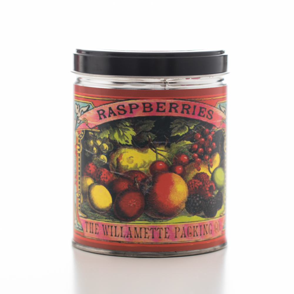 BLACK RASPBERRY VANILLA TIN CANDLE 13 OZ UPC#813542022443