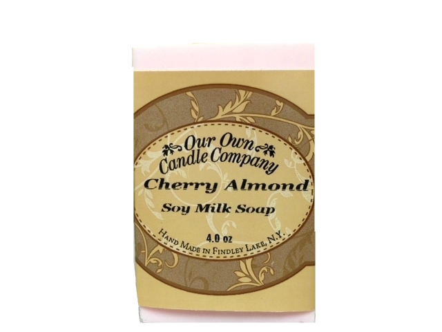 CHERRY ALMOND SOY SOAP 4 OZ UPC# 813542026380