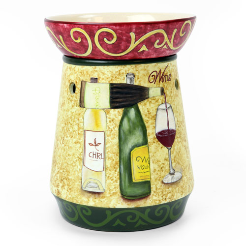 TALL WINE TABLE TOP ELECTRIC WAX MELTER
