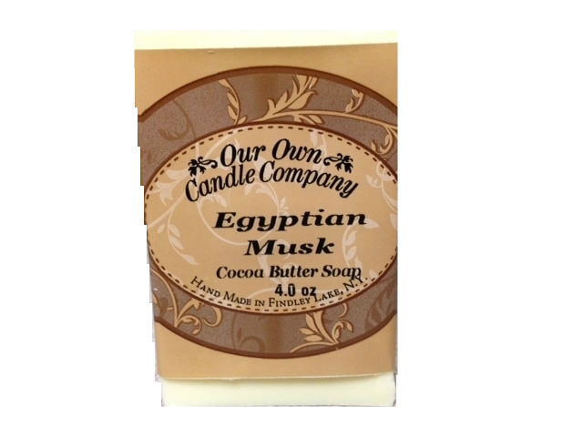 EGYPTAIN MUSK COCOA BUTTER SOAP 4 OZ UPC# 813542026014