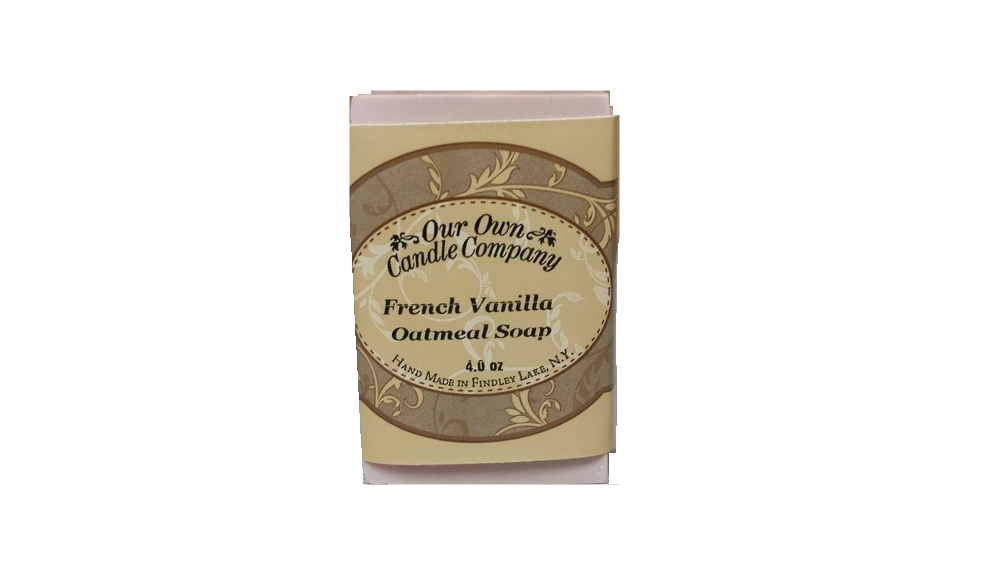 FRENCH VANILLA OATMEAL SOAP 4 OZ UPC# 813542026403