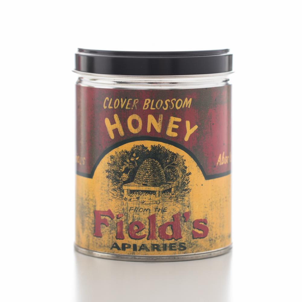 MILK & HONEY TIN CANDLE 13 OZ UPC# 813542022184