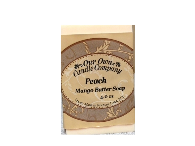 PEACH MANGO BUTTER SOAP 4 OZ UPC# 813542026281