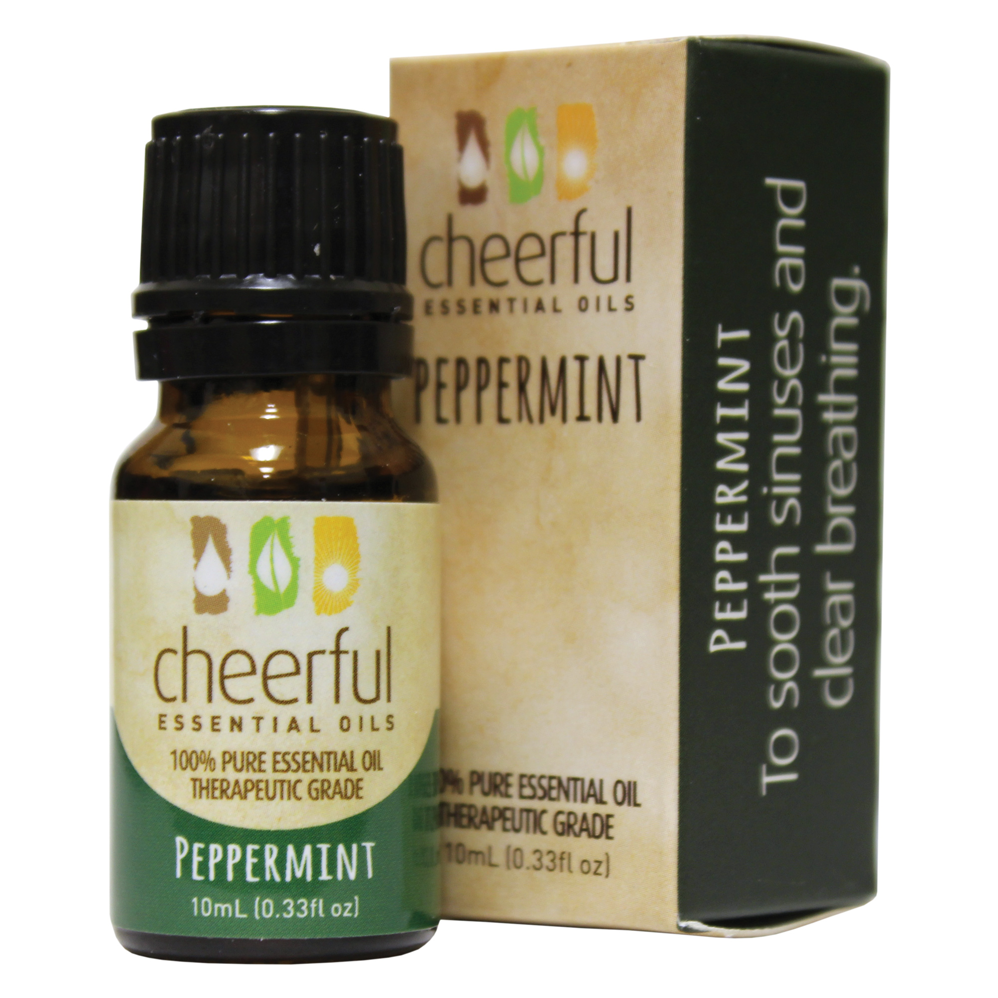 PEPPERMINT ESSENTIAL OIL 10 ML UPC# 674623018119