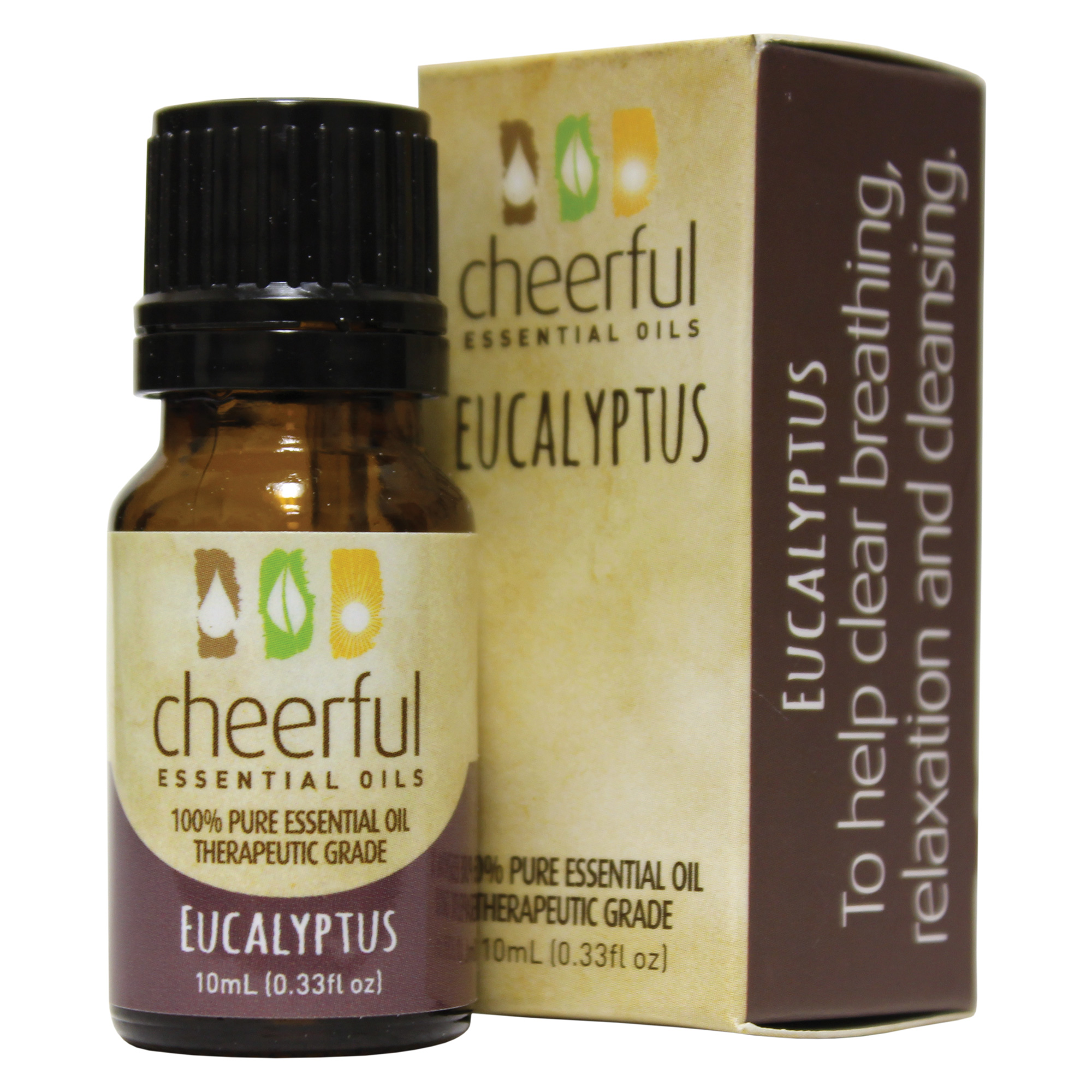 EUCALYPTUS ESSENTIAL OIL 10 ML UPC# 674623018164
