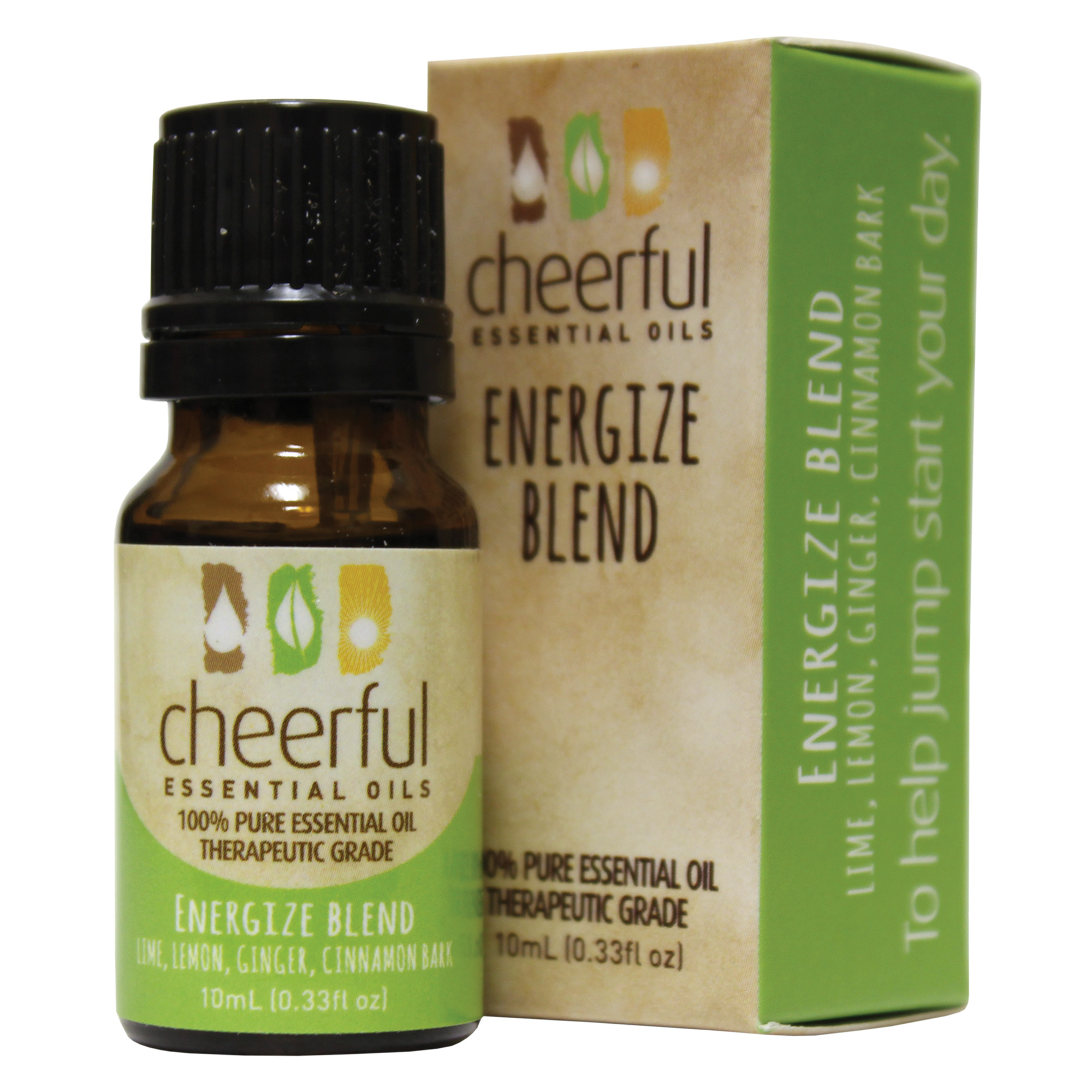 ENERGIZE BLEND ESSENTIAL OIL 10 ML UPC# 674623018249