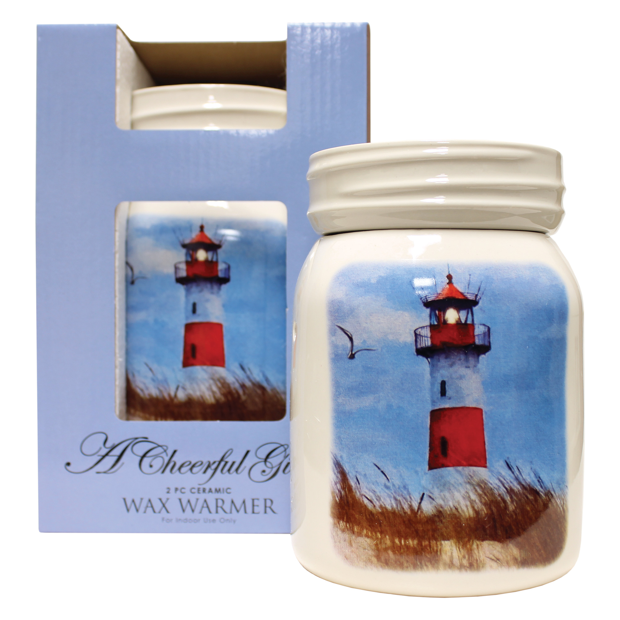 LIGHTHOUSE TABLE TOP ELECTRIC WAX MELTER