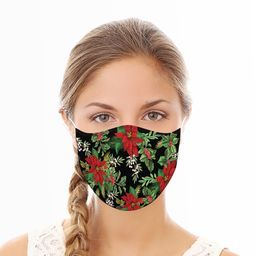 HOLIDAY FLORAL FACE MASK